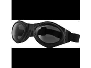 BOBSTER Smoke Lens Bugeye Motorcycle Goggle (ea)