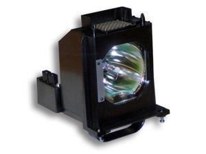 Mitsubishi WD82837 Rear Projector TV Assembly with OEM Bulb and Original Housing