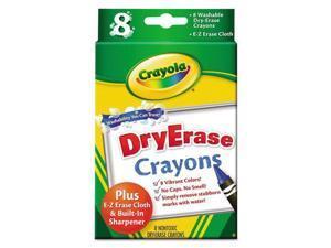 Crayola Dry-Erase Crayon CYO985200