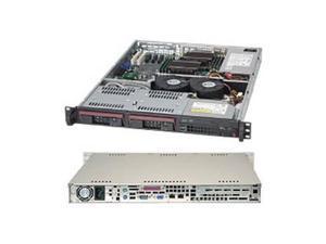 Supermicro CSE-811TQ-600B 600W 1U Rackmount Server Chassis (Black)