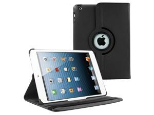 iPad Air 1st Gen 9.7 Case, Premium PU Leather Rotating Swivel Cover, Tablet Cover, Multi-View Angle position, Soft velvet interior For Apple iPad Air 9.7 (1st Generation) (Black)