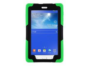 Galaxy Tab A 7 SM-T280 Armor Cover by KiQ Green Heavy Duty Armor Hybrid Shock-Proof Kid-Proof Protection Case Cover for Samsung Galaxy Tab A 7.0 T280