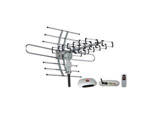 Esky HG-981 Waterproof Multi Directional Remote Control Outdoor HDTV Antenna - UHF VHF 360° Rotation