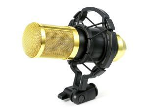 Ohuhu Sound Studio Dynamic Mic + Shock Mount BM800 Condenser Pro Audio Microphone Recording Microphone Mic