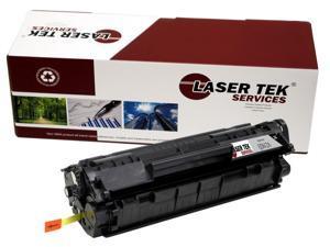 Laser Tek Services® HP Q2612A (12A) Compatible Replacement Toner Cartridge