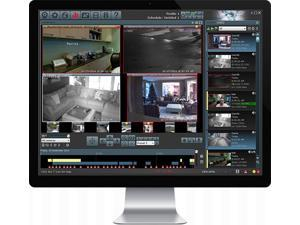 Blue Iris Surveillance ,Full Version 4, DVR and Monitoring  Software WinOS- Professional Edition - Downloadable version