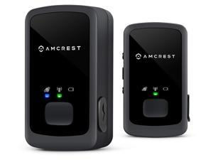 Amcrest 2-Pack AM-GL300 V2 (Upgraded GSM) Portable Mini Real-Time GPS Tracker - Unlimited Text Message/Email Alerts, Geo-Fencing, 10-14 Day Battery, No Contracts