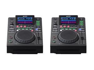 (2) Gemini MDJ-600 - Pro DJ CD / Media Players