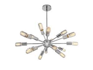 Access Lighting Flux Vintage Lamped Pendant in Chrome - 55543-CH