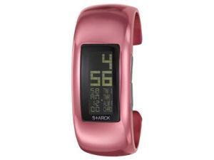 Philippe Starck Digital Pink Aluminum Womens Watch PH1118