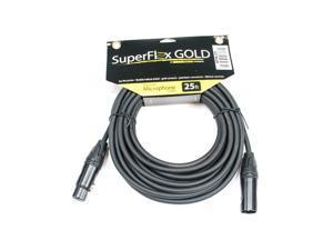 SuperFlex GOLD SFM-25 Premium Microphone Cable 25'