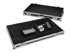 "32"" Guitar Effects Pedal Board with ATA Road Flight Case"