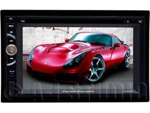 """POWER ACOUSTIK PD_620HB 6.2"""" Double_DIN In-Dash LCD Touchscreen DVD Receiver with Mobile Link & Bluetooth(R)"""