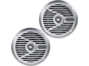 "Alpine SPS-M601 6-½"" 2-way Marine Speakers"