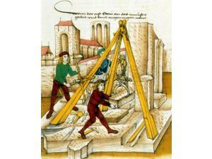 Constructing Church of Bern 15th Century Poster Print by Science Source (18 x 24)