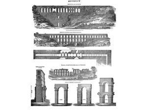 Roman Aqueducts Poster Print by Science Source (18 x 24)