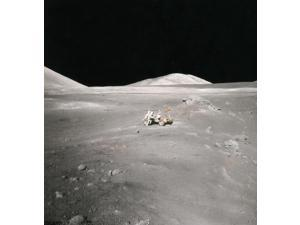 Lunar Rover and Harrison Schmitt Apollo 17 1972 Poster Print by Science Source (18 x 24)