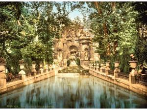 Luxembourg Gardens Medici Fountains Poster Print by Science Source (24 x 18)