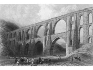 Aqueduct of the Emperor Valens Poster Print by Science Source (24 x 18)