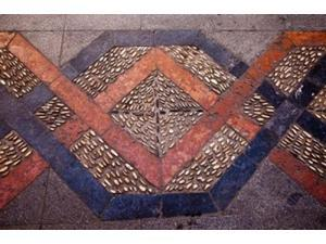 Spain, Andalusia, Malaga Province, Ronda Decorative Tile Floor Poster Print by Julie Eggers (19 x 12)
