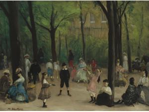 Luxembourg Gardens Poster Print (24 x 18)