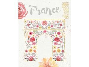 Paris Blooms II Poster Print by Jess Aiken (22 x 28)