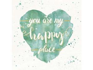 Happy Hearts II Poster Print by Jess Aiken (24 x 24)