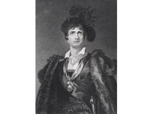 John Philip Kemble 1757 To 1823 English Actor Engraved By G Adcock After Sir Thomas Lawrence Poster Print (12 x 17)