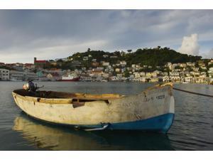 Caribbean Grenada Carenage harbor St Georges Poster Print (19 x 12)