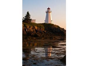 New Brunswick, Letite Passage Lighthouse Poster Print by Michael DeFreitas (24 x 36)