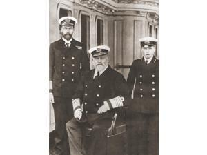 From Left, Prince Of Wales, Later King George V, King Edward Vii, Seated, And Prince Edward, Later Edward Viii. George V