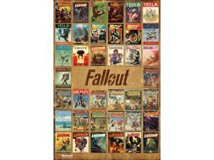 Fallout 4 - Magazine Covers Poster Print (24 x 36)