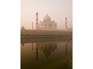 Taj Mahal Agra India Poster Print (13 x 18)