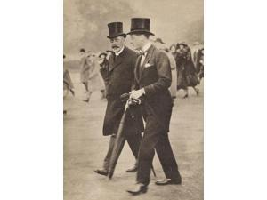 George V And His Son The Prince Of Wales The Future Edward Viii From A Photograph Taken In 1922 George V 1865 To 1936 Prince Of Wales 1894 To 1972 From His Majesty King Edward Viii Published 1936 Post