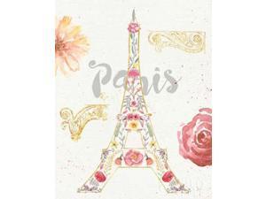 Paris Blooms I Poster Print by Jess Aiken (22 x 28)
