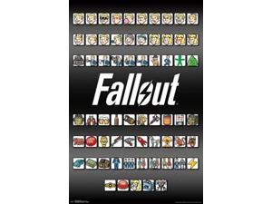 Fallout 4 - Emojis Poster Print (22 x 34)