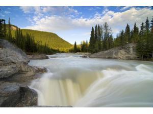Waterfall Elbow River Kananaskis Country Alberta Poster Print (17 x 11)