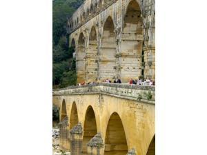 Pont du Gard, Roman Aqueduct Poster Print by Lisa S. Engelbrecht (24 x 36)