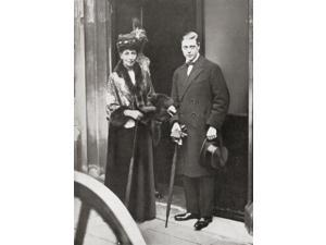 The Prince Of Wales Later King Edward Viii With Queen Alexandra At The Christening Of Lady Patricia Ramsays Son Edward Viii Edward Albert Christian George Andrew Patrick David Later The Duke Of Windso