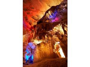 Australia, NSW, Jenolan Caves, Blue Mountains, Lucas Cave Poster Print by David Wall (24 x 36)