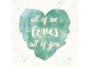 Happy Hearts I Poster Print by Jess Aiken (24 x 24)