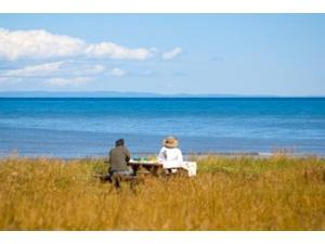 New Brunswick, Acadia, Miscou Island romance Poster Print by Victor Englebert (36 x 24)