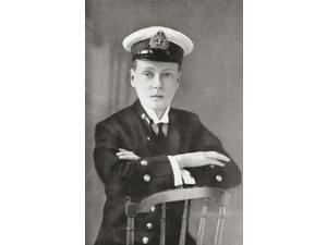 The Prince Of Wales, Later King Edward Viii, As A Midshipman In 1910. Edward Viii, Edward Albert Christian George Andrew