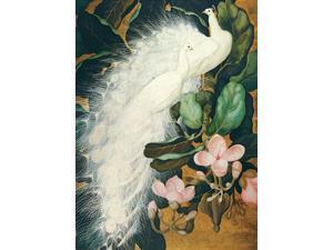 White Peacocks Poster Print by Jessie Botke (18 x 24)