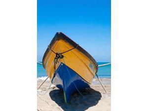 Fishing Boats, Treasure Beach, Jamaica South Coast Poster Print by Greg Johnston (24 x 36)