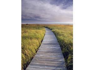 Boardwalk Along The Salt Marsh Kouchibouguac National Park New Brunswick Canada Poster Print (11 x 16)