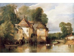 Arundel Mill Poster Print by Pyne James Baker (24 x 36)