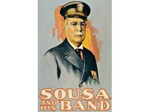 John Philip Sousa Portrait  High quality vintage art reproduction by Buyenlarge  One of many rare and wonderful images brought forward in time  I hope they bring you pleasure each and every time you l