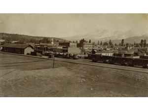 Flagstaff Arizona Ca 1890S Flagstaff - This City Is Situated On The Line Of The A & P Railroad 344 Miles West Of Albuquerque And Is The Best Town On The Line For A Distance Of 600 Miles It Has A Popul