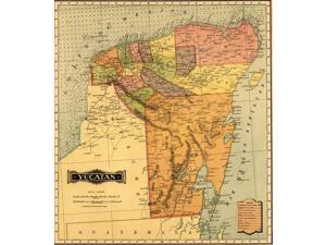 Yucatan -1844 Poster Print (18 x 24)